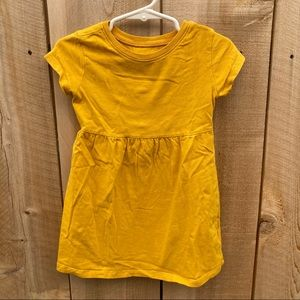 Old Navy size 2T dress mustard yellow